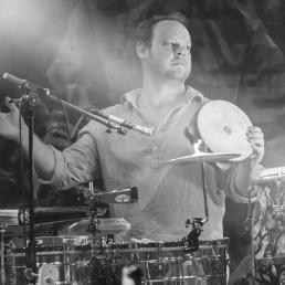 Percussionist Dan Schmatz
