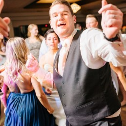 Groom Dancing Wedding
