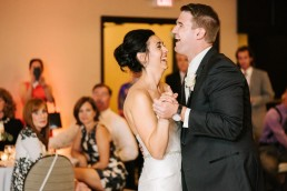 Bride-groom-first-dance-laughing